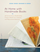 At Home with Handmade Books Cover
