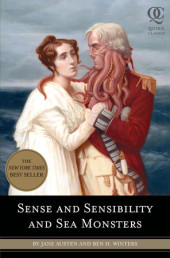 Sense and Sensibility and Sea Monsters Cover