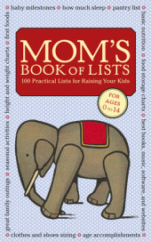 Mom's Book of Lists Cover