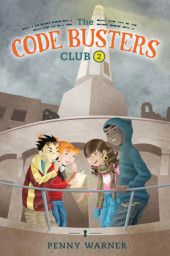 The Code Busters Club, Case #2: The Haunted Lighthouse Cover