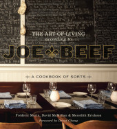 The Art of Living According to Joe Beef Cover