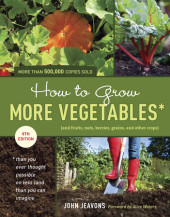 How to Grow More Vegetables, Eighth Edition Cover