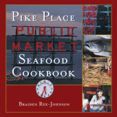Pike Place Public Market Seafood Cookbook Cover