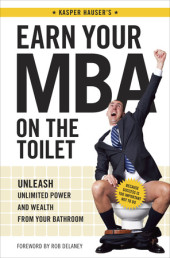 Earn Your MBA on the Toilet Cover