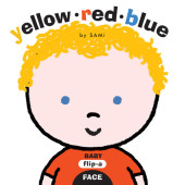 Baby Flip-a-Face: Yellow Red Blue Cover