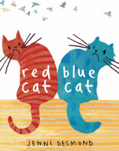 Red Cat, Blue Cat Cover