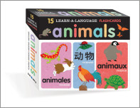 Learn-a-Language Flash Cards: Animals