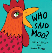 Who Said Moo? Cover
