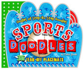 Sports Doodles Placemats Cover