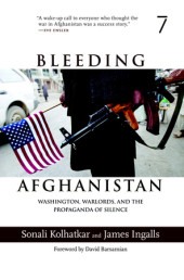 Bleeding Afghanistan Cover