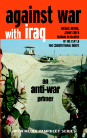 Against War with Iraq Cover
