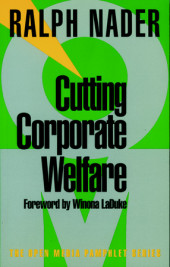 Cutting Corporate Welfare Cover