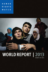 World Report 2013 Cover
