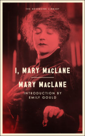 I, Mary MacLane Cover