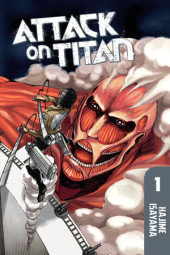 Attack on Titan 1 Cover