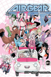 Air Gear 24 Cover