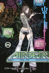 Air Gear 25 Cover