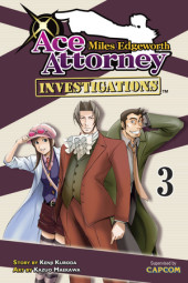 Miles Edgeworth: Ace Attorney Investigations 3 Cover