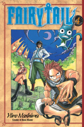 Fairy Tail 4 Cover