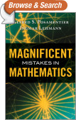 Magnificent Mistakes in Mathematics