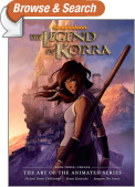 The Legend of Korra: The Art of the Animated Series Book Three: Change