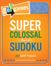 Go!Games Super Colossal Book of Sudoku
