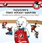 Puckster's First Hockey Sweater Cover