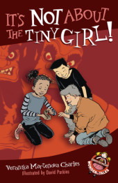 It's Not About the Tiny Girl! Cover