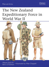 The New Zealand Expeditionary Force in World War II Cover