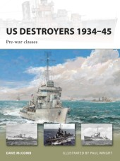 US Destroyers 1934-45: Pre-war classes Cover