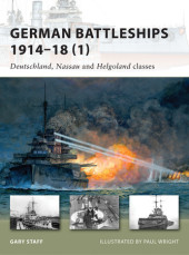German Battleships 1914-18 (1) Cover