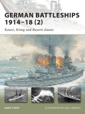 German Battleships 1914-18 (2) Cover