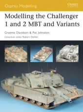 Modelling the Challenger 1 and 2 MBT and variants Cover