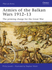 Armies of the Balkan Wars 1912-13 Cover