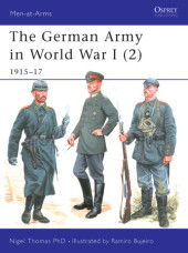 The German Army in World War I (2) Cover