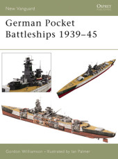 German Pocket Battleships 1939-45 Cover