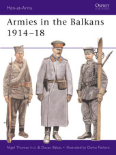 Armies in the Balkans 1914-18 Cover