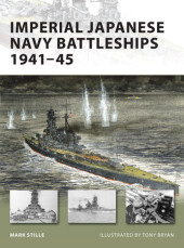 Imperial Japanese Navy Battleships 1941-45 Cover