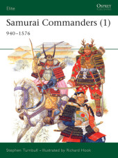 Samurai Commanders (1) Cover
