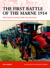 The First Battle of the Marne 1914 Cover