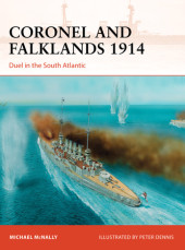 Coronel and Falklands 1914 Cover