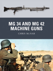 MG 34 and MG 42 Machine Guns Cover