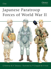 Japanese Paratroop Forces of World War II Cover