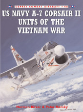 US Navy A-7 Corsair II Units of the Vietnam War Cover