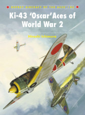 Ki-43 Oscar Aces of World War 2 Cover