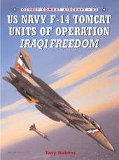 US Navy F-14 Tomcat Units of Operation Iraqi Freedom Cover