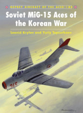 Soviet MiG-15 Aces of the Korean War Cover