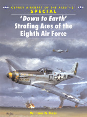'Down to Earth' Strafing Aces of the Eighth Air Force Cover