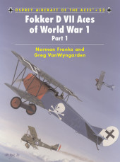 Fokker D VII Aces of World War 1 Cover