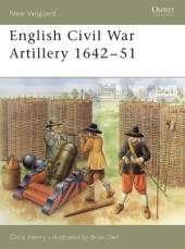 English Civil War Artillery 1642-51 Cover